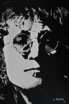 John Lennon Art Print by Lisa Masters