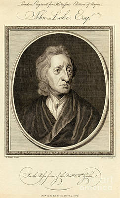1704 Photograph - John Locke, English Philosopher by Photo Researchers