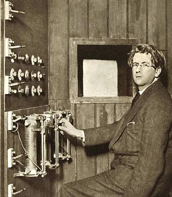 John Logie Baird, Scottish Engineer Art Print by Sheila Terry