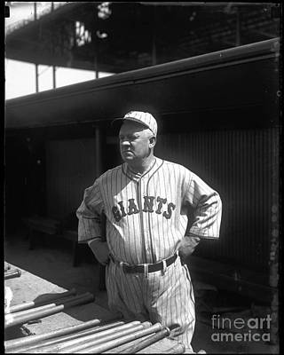 John Mcgraw -  New York Giants Print by David Bearden