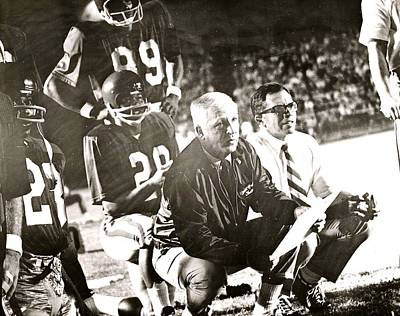 John Mckay On The Sidelines Art Print