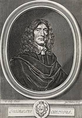 John Ogilby, Scottish Translator Art Print by Middle Temple Library