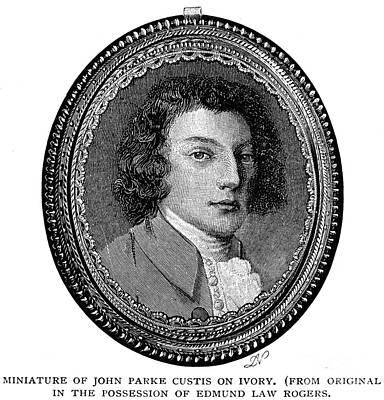 Custis Photograph - John Parke Custis by Granger