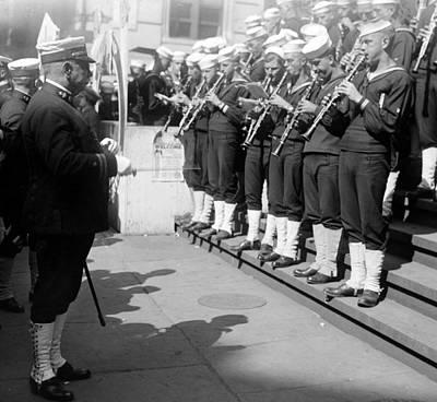 Spats Photograph - John Philip Sousa Left, American by Everett