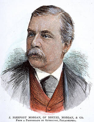 John Pierpont Morgan (1837-1913) Art Print