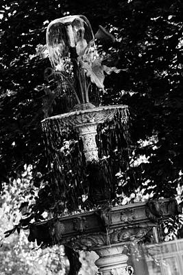 Photograph - John Purdue Fountain by Coby Cooper