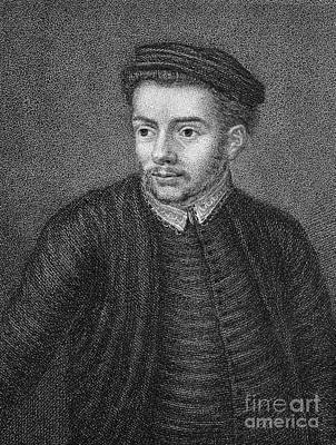 Skelton Photograph - John Skelton (1460?-1529) by Granger