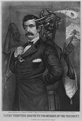John Wilkes Booth, Is Goaded Art Print by Everett