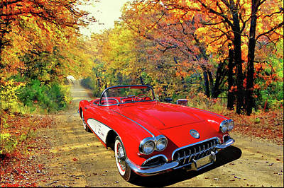 Photograph - Johndsmiths 59 Vette by Bill Dutting