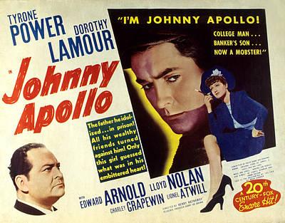 Johnny Apollo, Edward Arnold, Tyrone Art Print by Everett
