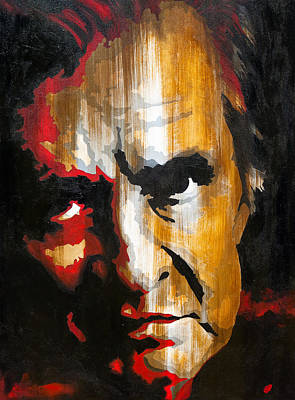 Johnny Cash Painting - Johnny Cash by Brad Jensen