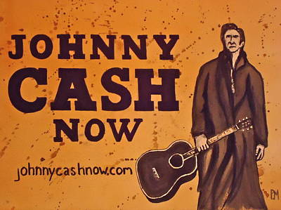 Johnny Cash Now Original by Pete Maier