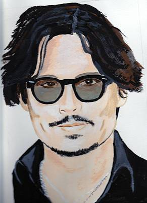 Johnny Depp 4 Art Print