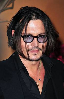 Johnny Depp Photograph - Johnny Depp At Arrivals For The Museum by Everett