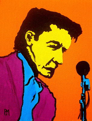 Nashville Painting - Johnny Pop IIi by Pete Maier