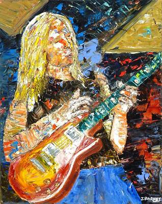 Johnny Winter Original by John Barney