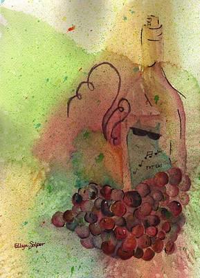 Join Me In A Glass Original by Ellyn Solper