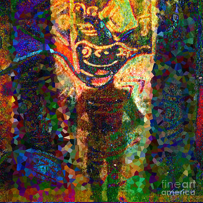 Yesayah Mixed Media - Joker by Fania Simon