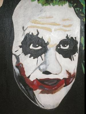 Painting - Joker by Samantha L