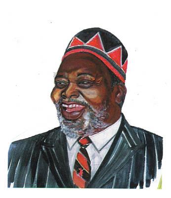 Jomo Kenyatta Art Print