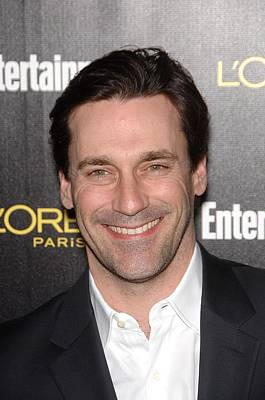 Jon Hamm At Arrivals For Entertainment Art Print