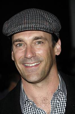 Jon Hamm At Arrivals For Get Him To The Art Print by Everett