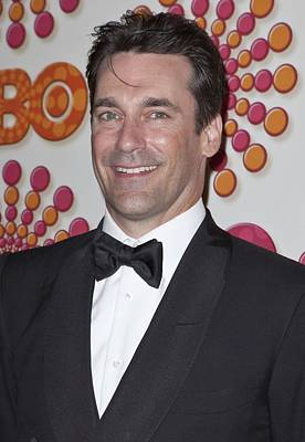 Jon Hamm At Arrivals For Hbo Post-emmy Art Print by Everett