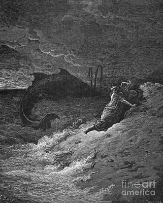 Jonah & The Whale Print by Granger