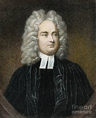 Jonathan Swift (1667-1745) Art Print by Granger
