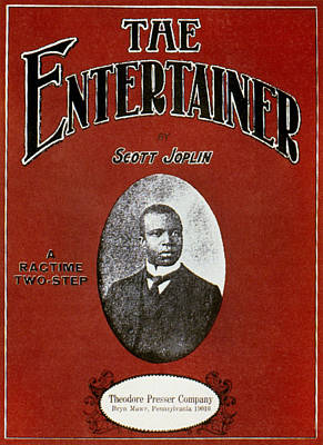 Ragtime Photograph - Joplin: Entertainer by Granger