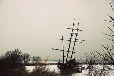 Jordan, Ontario, Canada A Tall Ship Print by Pete Stec