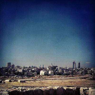 Home Wall Art - Photograph - Jordan's Capital   Amman What A by Abdelrahman Alawwad