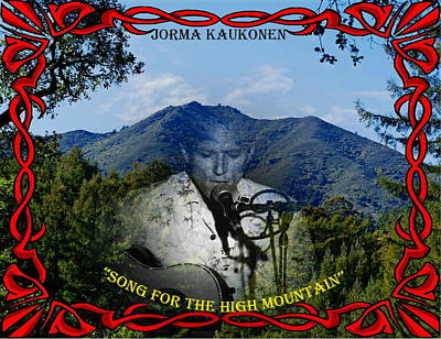 Photograph - Jorma- Song For The High Mountain by Ben Upham
