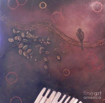 Painting - Jory's Song by Patti Spires Hamilton
