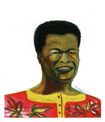 Jose Belo Chipenda Art Print by Emmanuel Baliyanga