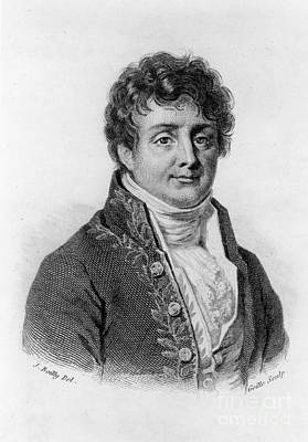 Fourier Photograph - Joseph Fourier, French Mathematician by Photo Researchers, Inc.