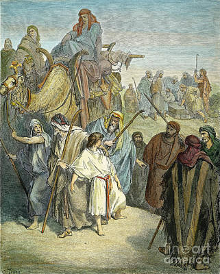 Drawing - Joseph by Gustave Dore
