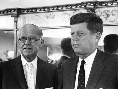 Joseph Kennedy Sr., John F. Kennedy Art Print