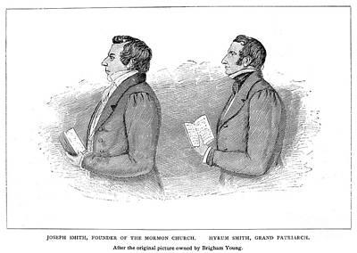 Joseph Smith (1805-1844) Art Print by Granger