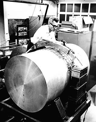 University Of Maryland Photograph - Joseph Weber, Physicist by Volker Steger