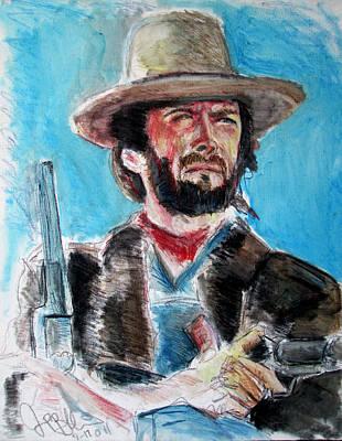 Clint Eastwood Art Painting - Josey Wales  by Jon Baldwin  Art