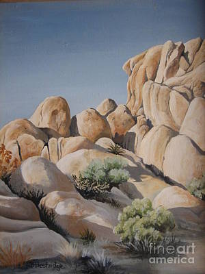 Painting - Joshua Tree 1 by Barbara Prestridge