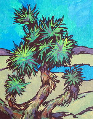 Painting - Joshua Tree by Sandy Tracey