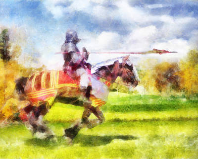 Digital Art - Joust by Francesa Miller