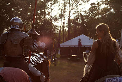 Photograph - Joust One Knight by Sean Green