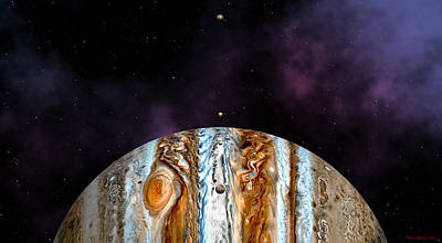 Digital Art - Jovian Giant by David Robinson