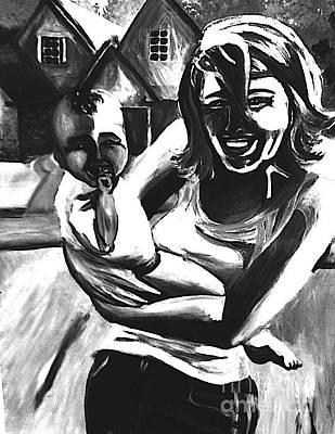 Joy Art Print by Jeffrey Kyker