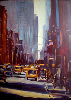 Painting - Joy Of Broadway by NatikArt Creations