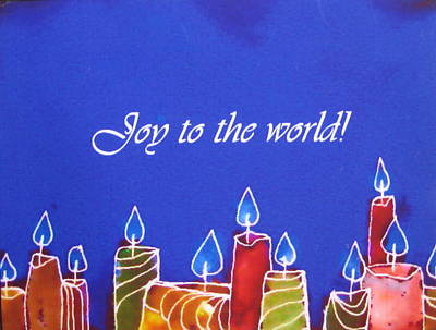 Painting - Joy To The World by Anne Duke