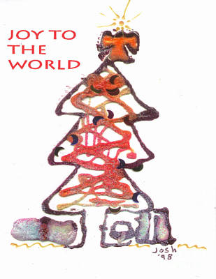 Mixed Media - Joy To The World by Angela L Walker